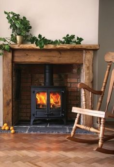 55+ Ideas Farmhouse Fireplace Gas Wood Burning Stoves #farmhouse