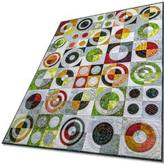 New pattern I'm working on for a quilt as you go with a circle tool. It's very easy to make.