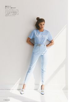 Taylor Hill Models Casual Cool Styles for Numero Tokyo Taylor Marie Hill, Victoria Secret Angels, Fashion Pants, Fashion Pictures, Editorial Fashion, Fashion Editorials, Summer Styles, Tokyo, Summer Outfits