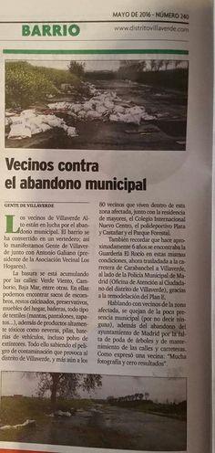 Gente de Villaverde: Gente de Villaverde en el Periódico de Villaverde