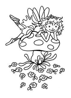 kleurplaten prinses lillifee