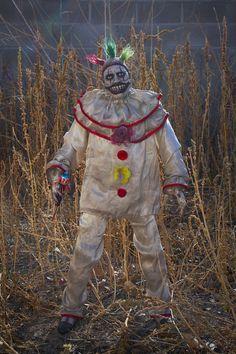 Ooak handmade Twisty The Clown horror sculpture from American