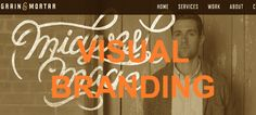 Branding experts Grain & Mortar have a series of infographics on their site, including their services page.
