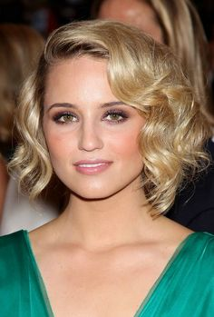 Dianna's pretty waved bob shows just how versatile the bob-cut is and this glossy golden blonde look is just as stunning for a formal event as long hair. The hair is lightly layered toward the lower ends of the style, with sufficient length for those amazing, contemporary waves. The waves create attractive side volume and[Read the Rest]