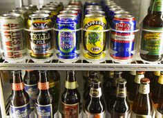 Craft beers are showing up in cans, clearing the way for it to be served in more places