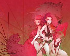 camilla d'errico art | Camilla d'Errico art for a forthcoming graphic novel.