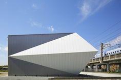 ORIGAMI ark, Himeji, Matsuya Art Works #japan #architecture #japanese