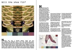 For Norwich feature. Article on Winners of a Norwich Van Dal shoe competition.  With help with Layout from Bee :) Xx