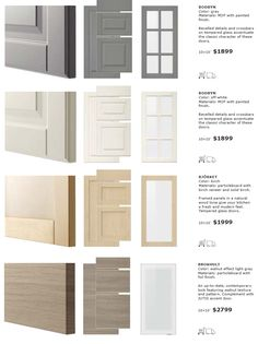 IKEA SEKTION cabinet doors and  drawer fronts (3)