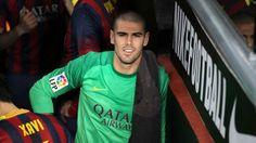 Adiós στην Barcelona από τον Victor Valdes #FCBarcelona #farewell