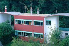 Ле Корбюзье / Le Corbusier. Поселок Фрюже (Quartiers Modernes Frugès), Пессак (Pessac), Bordeaux, Франция. 1924-1925