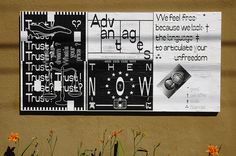 "Ficciones Typografika 046-048 (24""x36""). Installed on August 7, 2013. Very pleased to feature Kia Tasbihgou. A thousand thanks for this contribution. More on Ficciones Typografika: http://ficciones-typografika.tumblr.com/"