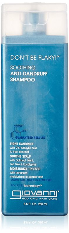 Giovanni Don't Be Flaky Anti-Dandruff Shampoo, 8.5 Fluid Ounce >>> Check this awesome product by going to the link at the image.