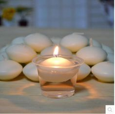Wholesale Candles - Buy 50 X Water Floating Candles Paraffin Wax Round IVORY Red Floater Romantic Decoration Disc Wedding Party Home $0.26 | DHgate.com