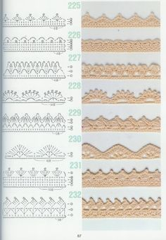 servilletas bordadas en hilo - Buscar con Google