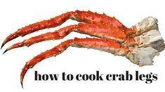 Pantry Raid: How to Cook Crab Legs