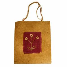 Handmade from natural fibre paper, this gift bag reflects the natural beauty and sustainable lifestyle of the Kathmandu Valley region. Paper Gift Bags, Paper Gifts, Wooden Boxes, Home Gifts, Paper Design, Bag Making, Natural Beauty, Fiber, Artisan
