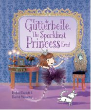 Glitterbelle : The Sparkliest Princess Ever Picture Book Glitterbelle is a fun & friendly, shimmery & glittery, modern day princess. The easy-to-follow stories explore the world of Glitterbelle, her best friends, and pet dog Bob, as they attend school and practice wide-ranging hobbies such as singing, dressing up and baking – but with extra special sparkle! Glitterbelle's world is brought to life through stunning, elaborate, miniature sets, each skilfully created by hand.