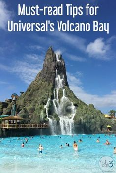 Universal Orlando's Volcano Bay waterpark is now open and here are the tips you need to read before you visit!  via @we3travel