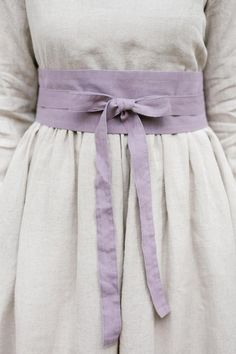 Ribbon Belt, Lavender