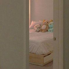c-nr-d - Plushies Room Ideas Bedroom, Bedroom Inspo, Kawaii Bedroom, Aesthetic Bedroom, Dream Rooms, My New Room, Room Inspiration, Decoration, Furniture