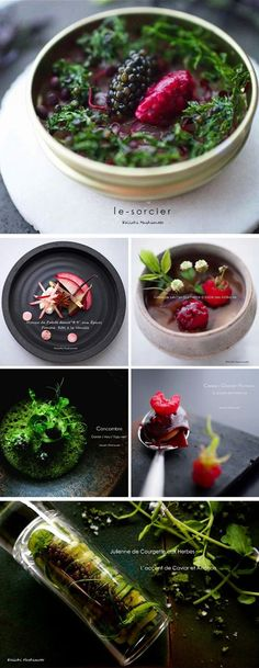 Food Archives - Page 3 sur 12 - Et pourquoi pas Coline ? Gourmet Recipes, Cooking Recipes, Gourmet Desserts, Gourmet Foods, Plated Desserts, Fancy Food Presentation, Western Food, Fusion Food, Molecular Gastronomy