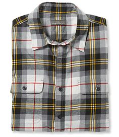 <p>A beyond-the-weekend style that's made to wear anywhere, from the outdoors to the office. Our slimmest flannel shirt offers a modern take on vintage plaids, crafted in a lighter, more refined fabric than our traditional heavier-weight flannels. Three-season cotton twill is casual enough to wear untucked, brushed lightly on both sides for an exceptionally soft and smooth finish. Two chest pockets with buttoned flaps. Shirttail hem. 100% cotton, 4 oz. weight. Imported. Machine wash and ...