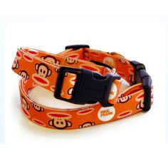 Paul Frank Signature Julius Orange Dog Collar