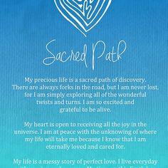 Affirmation - Sacred Path