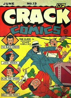 Crime Smasher Comics | Davy Crockett's Almanack of Mystery, Adventure and The Wild West ...