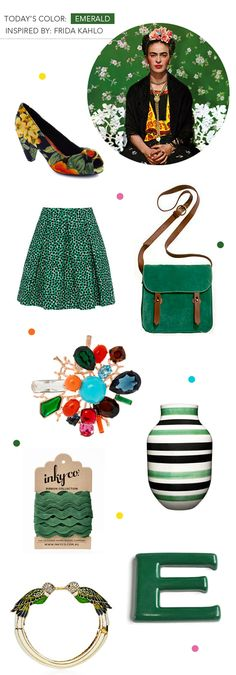emerald- Pantone color of the year 2013