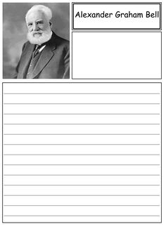 research paper about alexander graham bell Read this biographies research paper and over 88,000 other research documents alexander graham bell alexander graham bell, a man who best known for inventing the.