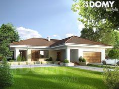 Projekt domu Aksamit 4 - wizualizacja frontowa