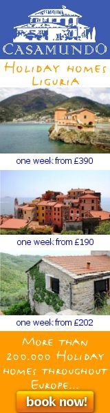 Holiday Homes Liguria one week from GBP 190