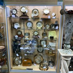 Fresh to market is this incredible collection of Chelsea and other maritime clocks and barometers. Come see it for yourself at Gannons Antiques Vendor Displays, Antique Art, Clocks, Home Goods, Chelsea, Table Settings, The Incredibles, Indoor, Fresh