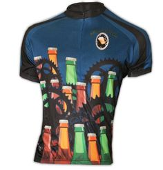 Beer Drinker Women's Bike Jersey, Large - http://ridingjerseys.com/beer-drinker-womens-bike-jersey-large/