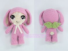 PATTERN: Lilanna the Baby Bunny Fairy Crochet от epickawaii