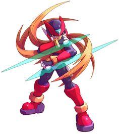 Zero - Characters  Art - Mega Man Zero 3