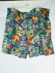 Disney Freaky Tiki Mickey Mouse Board Shorts Apparel & Accessories Swim Trunks Men L Euc Rich And Magnificent Collectibles