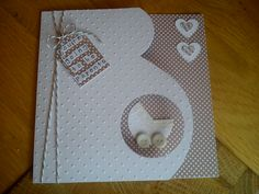 Handmade 'parents to be' card