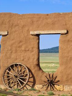 Santa Fe National Historic Trail, Missouri to New Mexico - Mountain Route, Fort Union, New Mexico