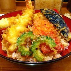 【丼丼亭】夏天丼