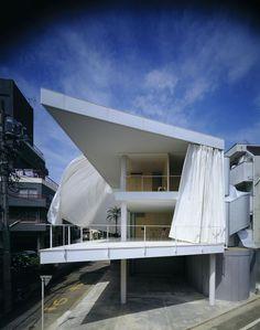 «Curtain Wall House (Case Study House 7)», de Shigeru Ban, Tokyo, 1965.