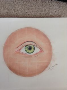 Practicing eyes My Arts, Plates, Eyes, Tableware, Licence Plates, Plate, Dinnerware, Dishes, Dish