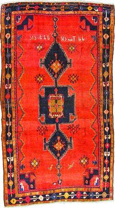 Antique Hamedan carpet