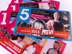 Sainsbury's Active Kids campaign is now open for 2013, offering vouchers for children's sports kit and experiences through schools and community groups.    Vouchers are available from 30 January and 22 May 2013.    #sainsburys #sports #scouts #children #kids #guides #nurseries #schools