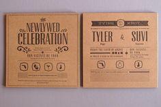 Thomas Printers ... letterpress ... woman-owned!  #practicalwedding