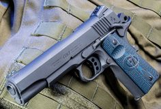 The new Colt Competition Pistol is a true, out-of-the-box 1911 for the competitor. Colt 1911, 1911 Pistol, Revolver, 1911 Grips, Colt 45, Shooting Guns, Fire Powers, Guns And Ammo, Firearms