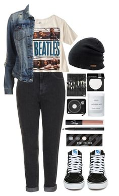 """""""Here Comes The Sun"""" by ellac9914 ❤ liked on Polyvore featuring Topshop, Coal, Vans, VILA, MAKE UP FOR EVER, Byredo, NARS Cosmetics, MAC Cosmetics, casual and school"""