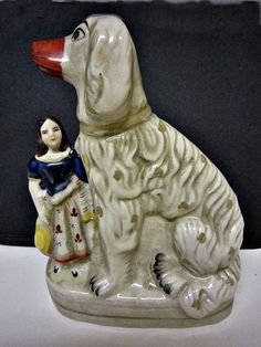 19th Century Staffordshire Dog!